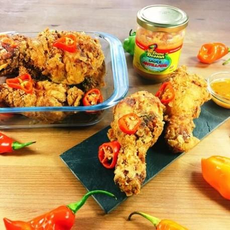 Pilons de poulet panés à la Sauce Antillaise