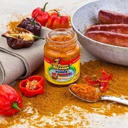 Purée de Piments Colombo et saucisses