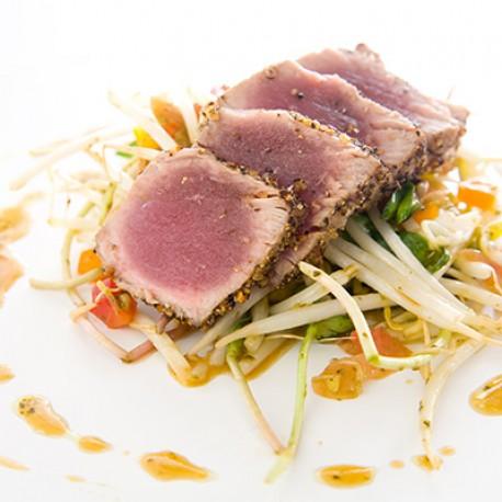 Tataki de thon aux Épices à Steak