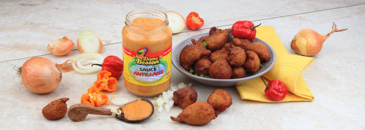 Sauce Antillaise et accras